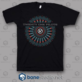Typhography Twenty One Pilots Band T Shirt