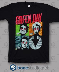 Uno Dos Tre Green Day Band T Shirt