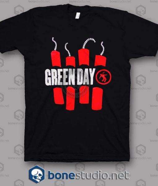 Vtg Green Day Band T Shirt