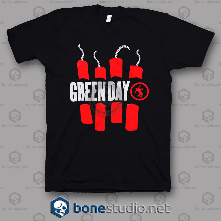 Vtg Green Day Band T Shirt