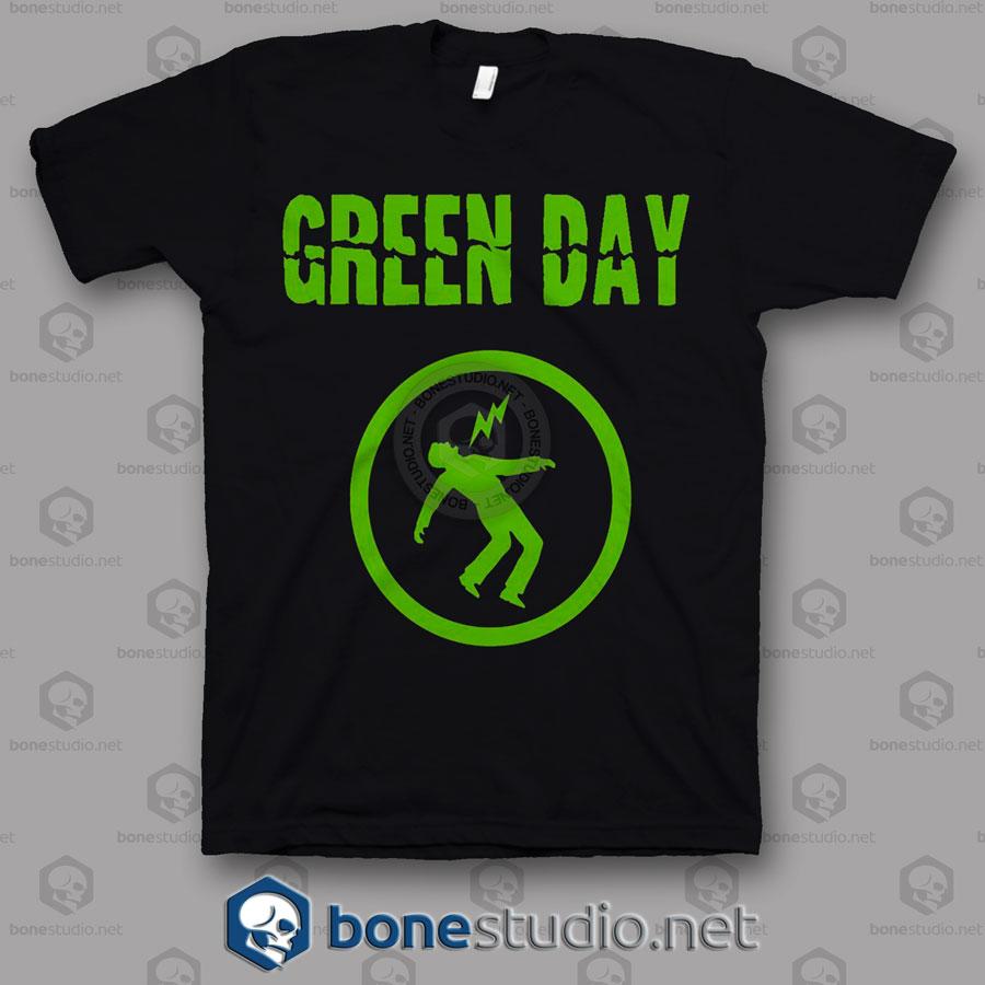 Warning Green Day Band T Shirt