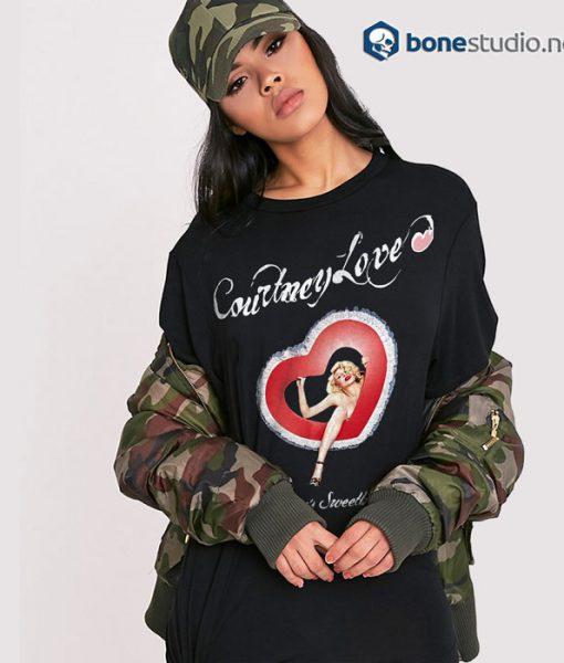 America's Sweet Heart Courtney Love Hole Band T Shirt