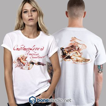 Courtney Love American Sweetheart Hole Band T Shirt