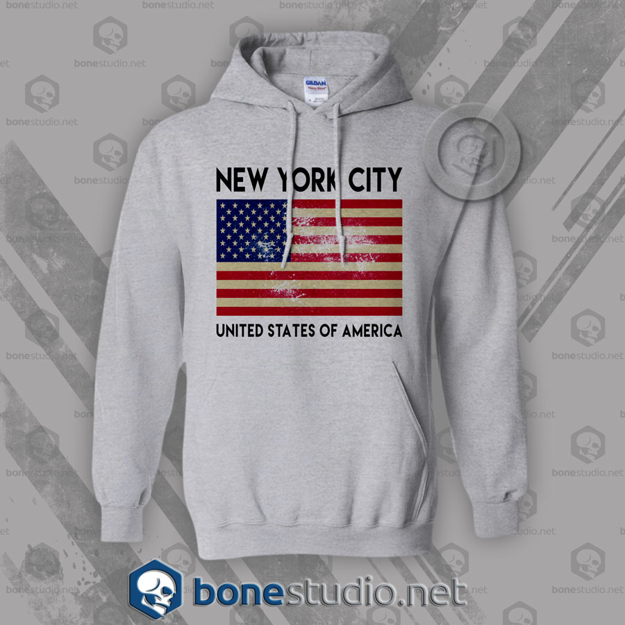 New York City USA Hoodies