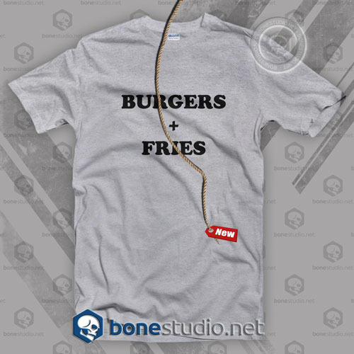 Burger Fries T Shirt