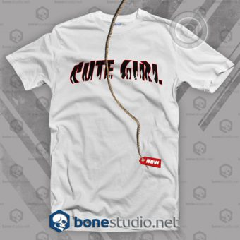 Cute Girl Feminist T Shirt