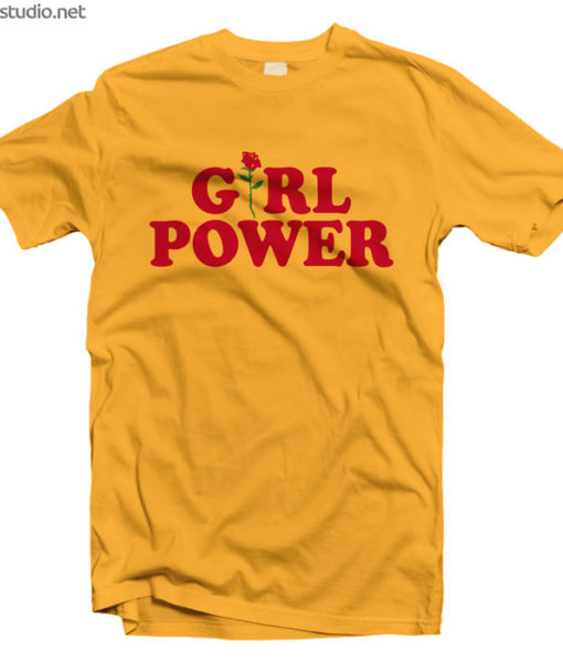 Girl Power Feminist T Shirt
