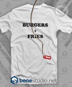 Burger Fries T Shirt