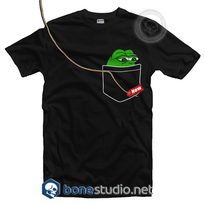 Pepe Frog Pocket Style T Shirt
