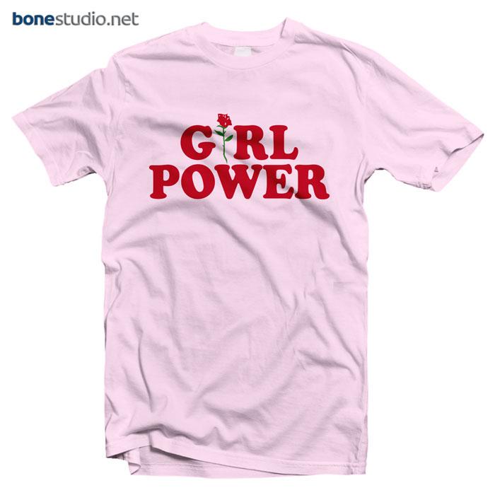Girl Power Feminist T Shirt
