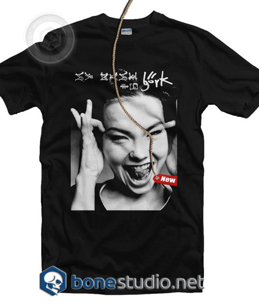 My Name Is Bjork T Shirt
