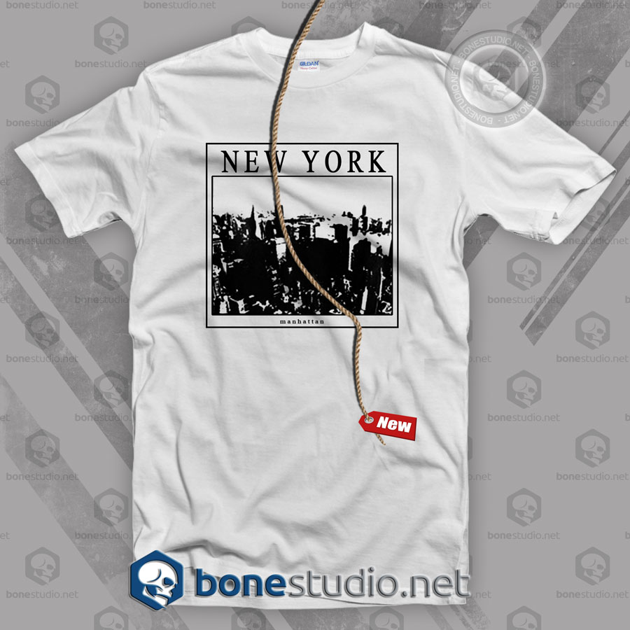 New York Manhattan T Shirt