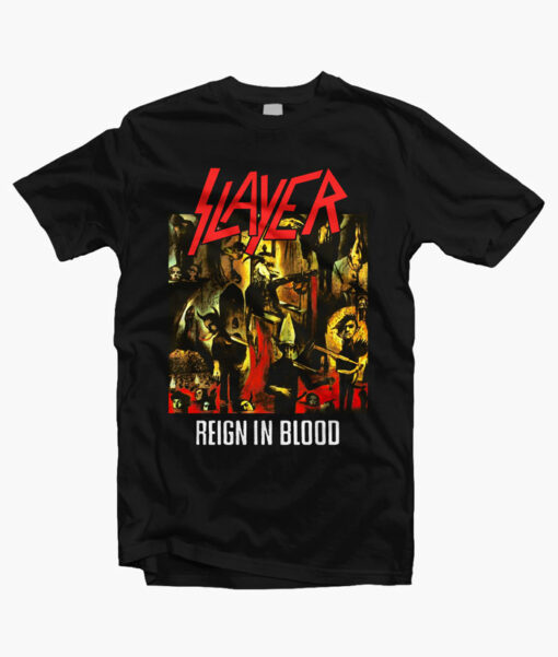 Reign In Blood Slayer T Shirt