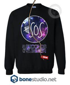 5 Seconds Of Summer Galaxy Sweatshirt