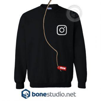 Instagram Logo Sweatshirt