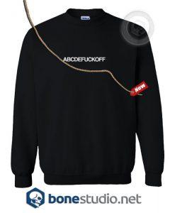 abcdefuckoff Sweatshirt