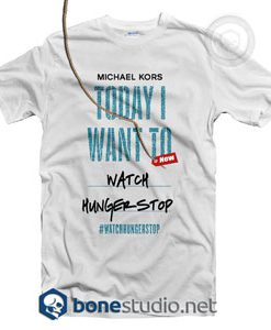 Watch Hunger Stop T Shirt