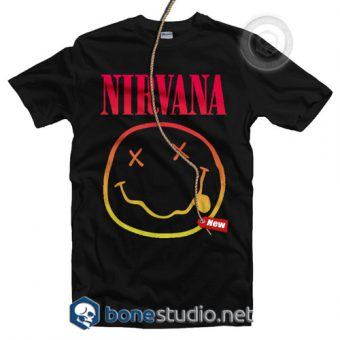 Nirvana Logo Band T Shirt