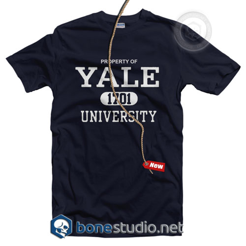 Property Of Yale 1701 University T Shirt