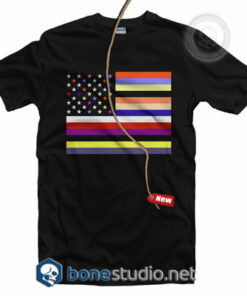 American Flag Full Colour T Shirt