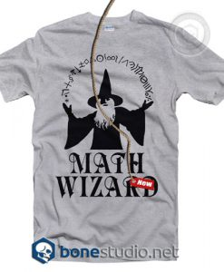 Math Wizard T Shirt