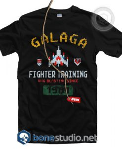 Galaga Fighter Training T Shirt
