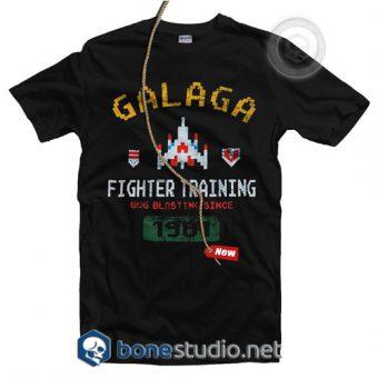 Galaga Fighter Training T Shirt