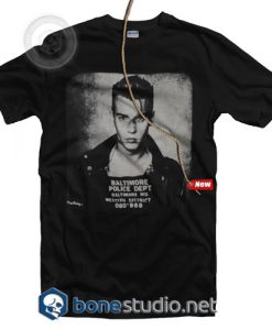 Johnny Depp Baltimore Police Department T Shirt