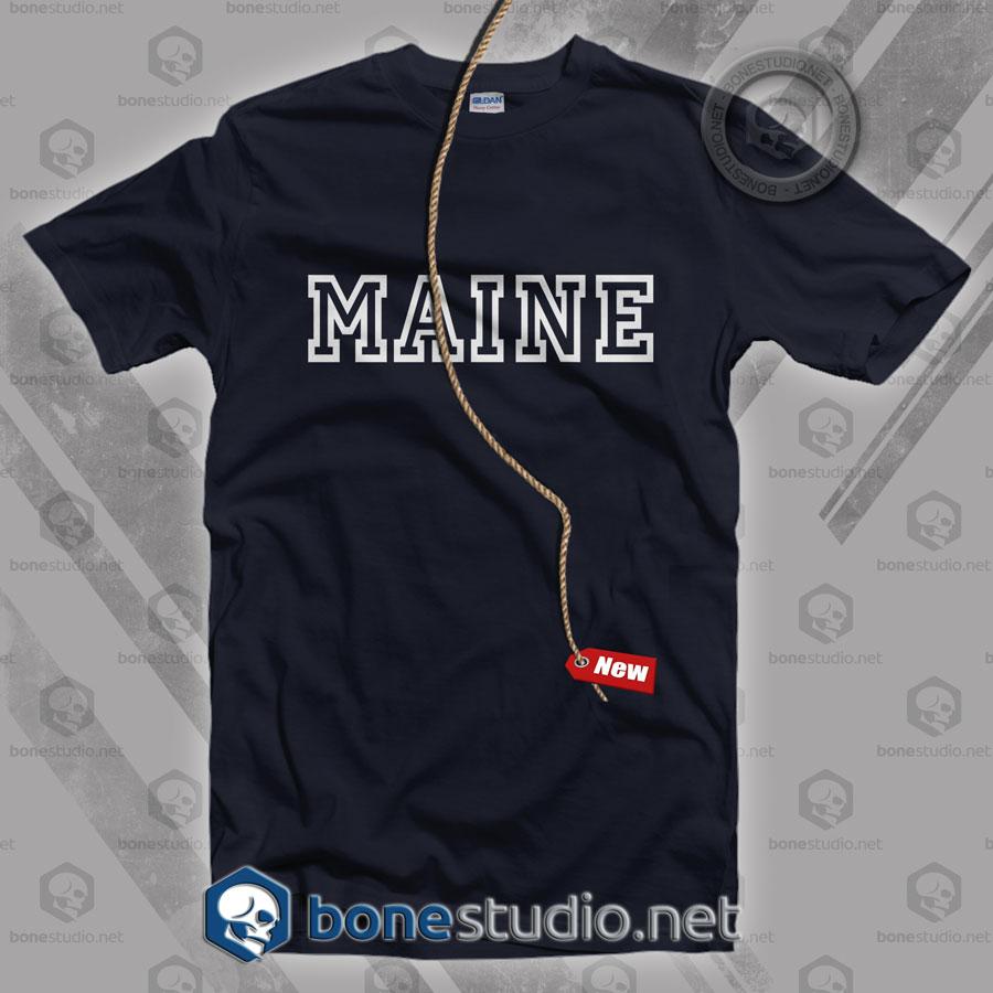 Maine Classic T Shirt
