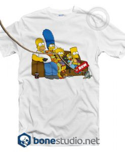 Bart Simpson Family T Shirt