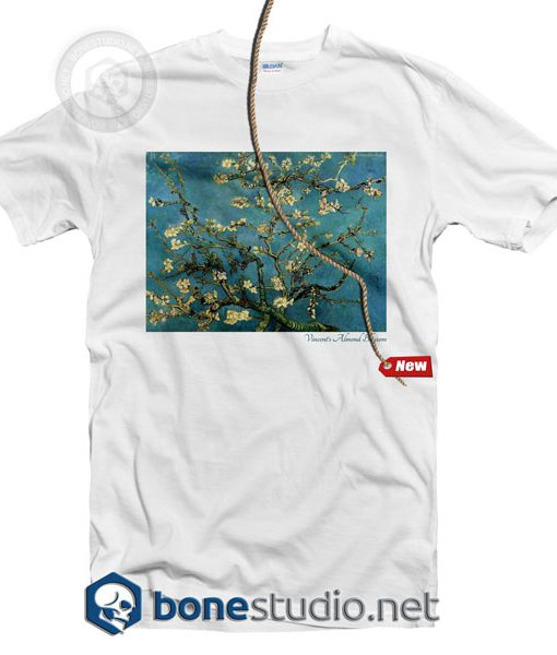 Vincent Van Gogh Almond Blossom Tree T Shirt