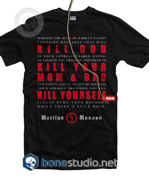 Kill God T Shirt