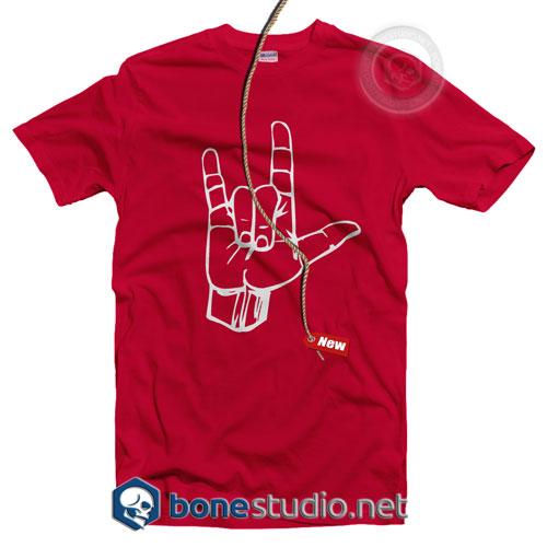Metal Hand T Shirt