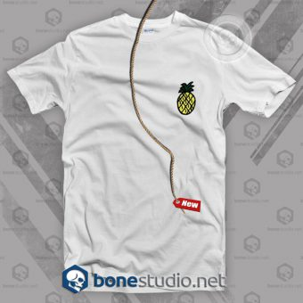 Pineapple Pocket Style T Shirt