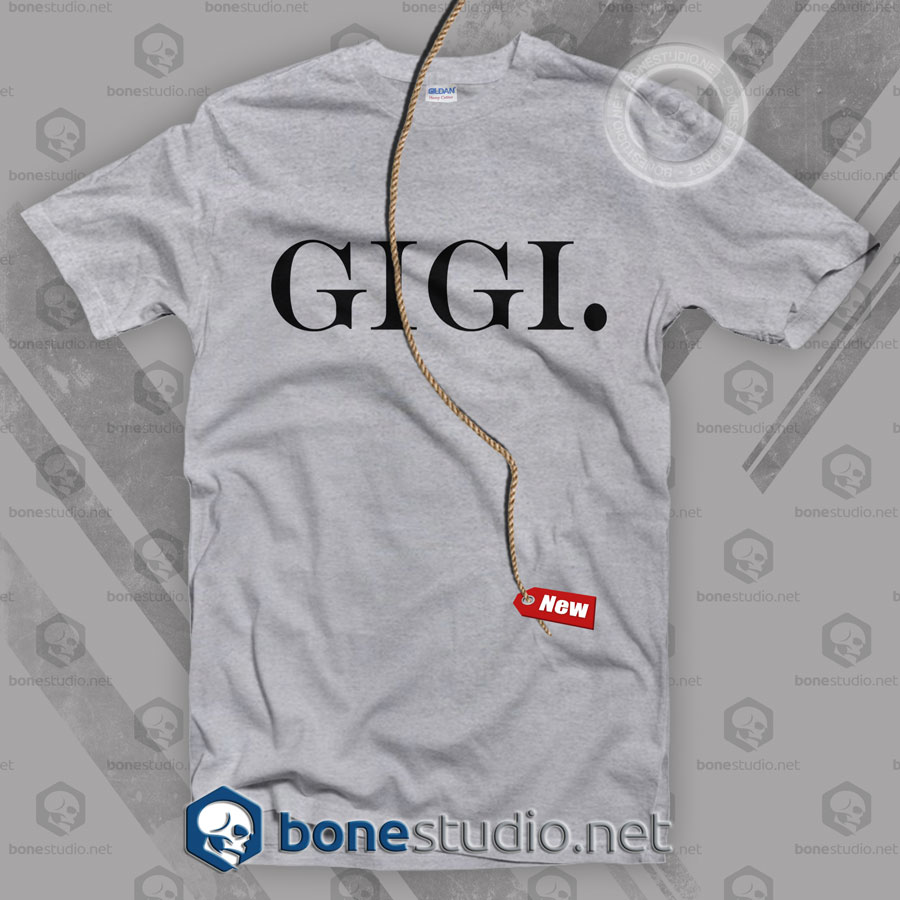Gigi Font T Shirt