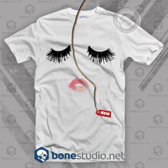 Lip And Eyelash T Shirt