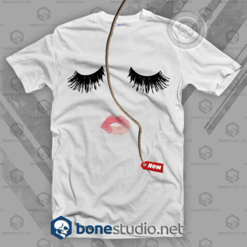 Lip And Eyelash T Shirt