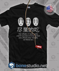 Spirited Away No Face T Shirt