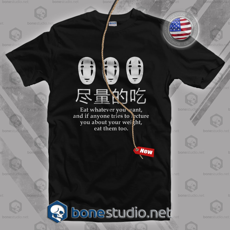 Spirited Away No Face T Shirt