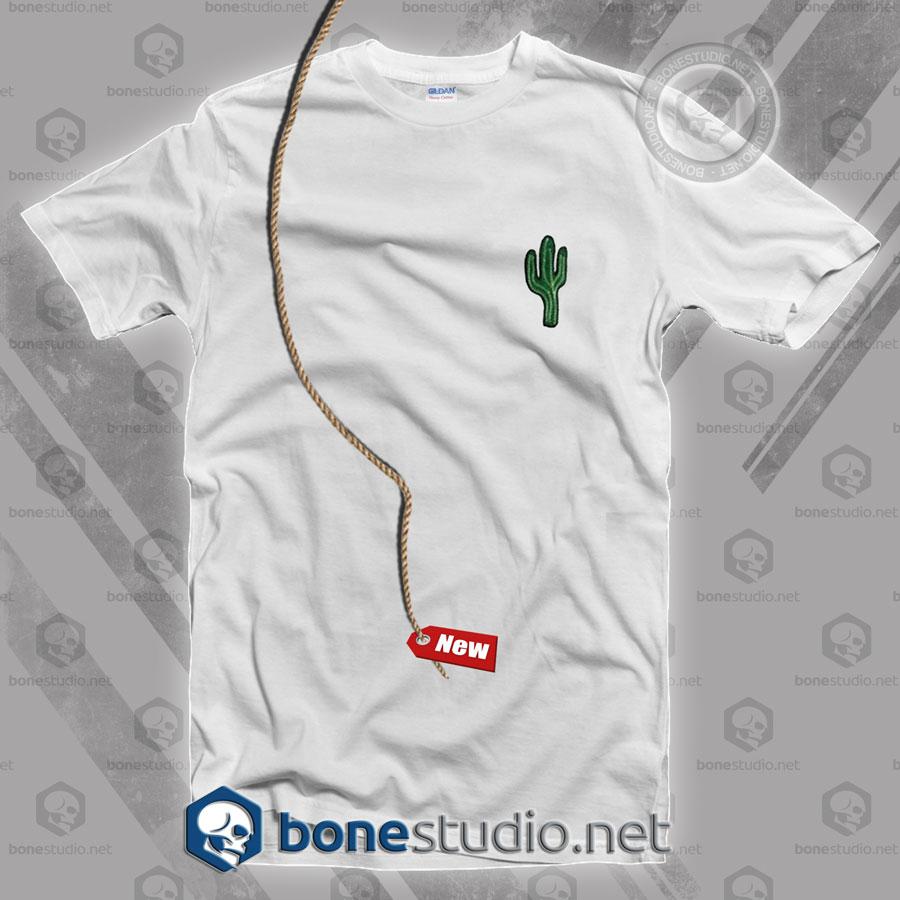 Cactus Pocket Style T Shirt