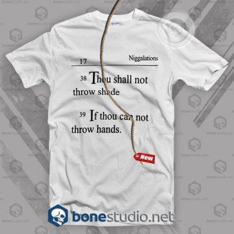 Niggalations T Shirt