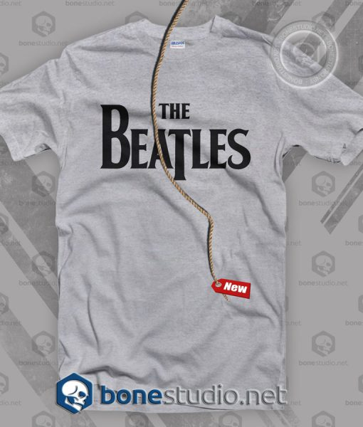 The Beatles Logo Band T Shirt