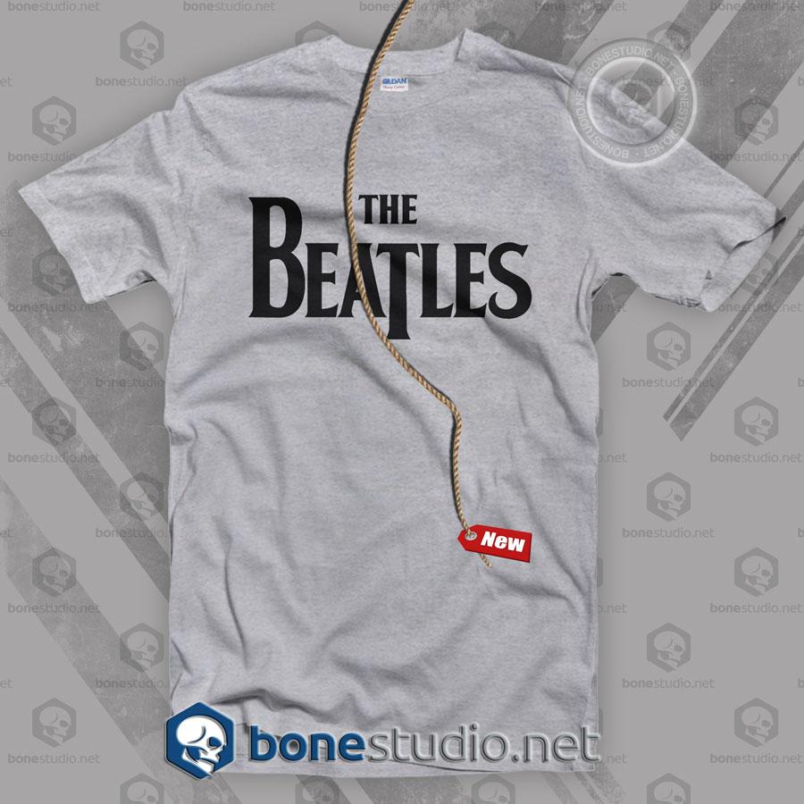 The Beatles Logo Band T Shirt
