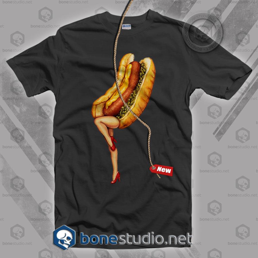 Hot Dog Girl T Shirt