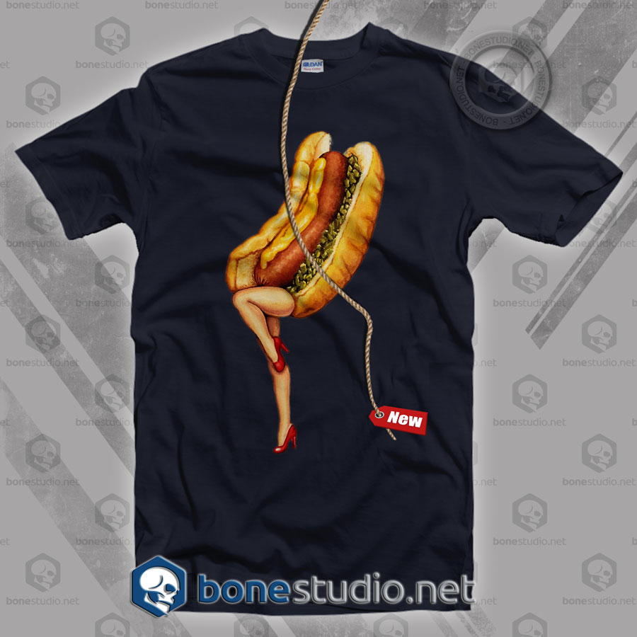 Hot Dog Girl T Shirt