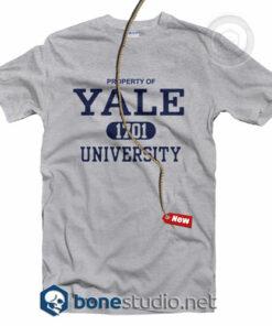 Property Of Yale 1701 University T Shirt