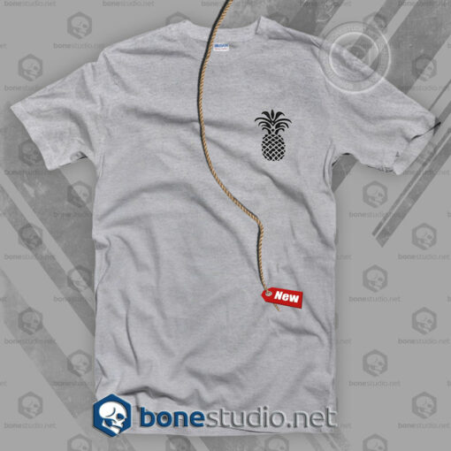 Pineapple Pocket Style T Shirt