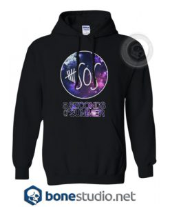 5 Seconds Of Summer Galaxy Hoodies