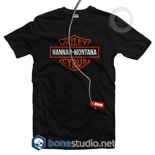 Miley Hannah Montana Cyrus T Shirt
