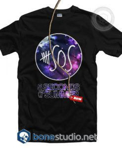 5 Seconds Of Summer Galaxy T Shirt